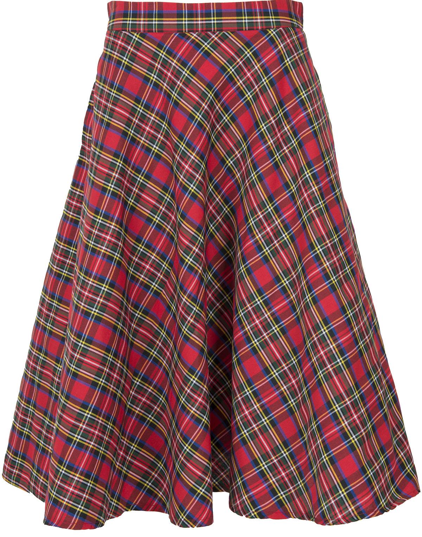 newest 6939a 542b5 Küstenluder MAILIN Vintage TARTAN Karo Retro SWING Skirt ...